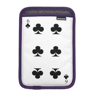 6 de clubs housse iPad mini