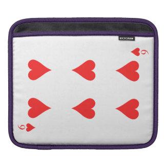 6 de coeurs housse pour iPad