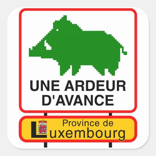 6x Sticker - UNE ARDEUR D'AVANCE