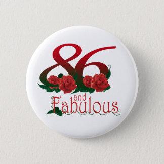 78 et soixante-dix-huitième nombre fabuleux badge rond 5 cm
