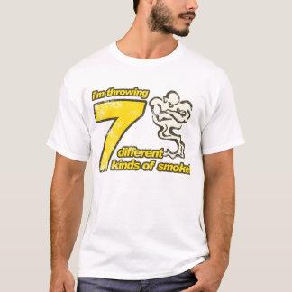 7 genres de T-shirt de fumée