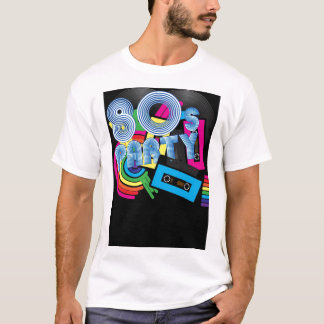 80 Retro Partij T Shirt