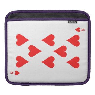 8 de coeurs housse iPad