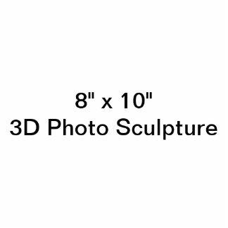 """8"""" personnalisé x 10"""" sculpture en photo photo sculpture"""