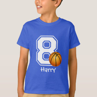 8ème Basket-ball personalized-2 de garçon T-shirt