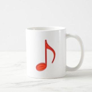 8ème Notez le grand plastique rouge 2010 Mug