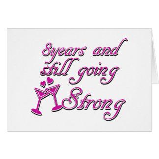 8ste huwelijksverjaardag
