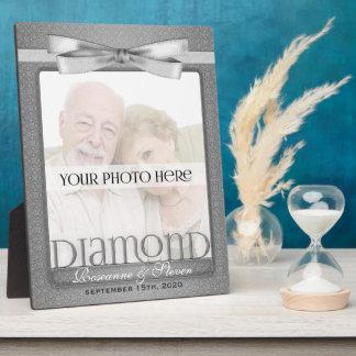 8x10 cadre de photo d'anniversaire de mariage du d photo sur plaque