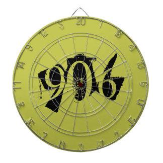 906 het Dartboard van Michigan Dartbord