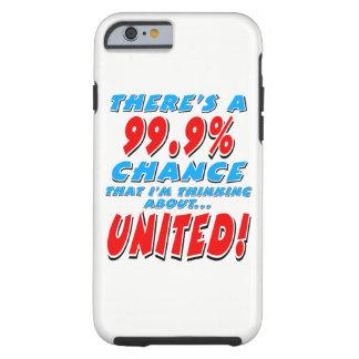 99,9% UNI (noir) Coque Tough iPhone 6