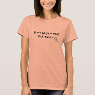 """""""A béni par un enfant avec le T-shirt d'autisme"""""""