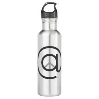 À la bouteille d'eau de paix