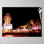 À l'ouest Ho et affiche de la Riviera Las Vegas