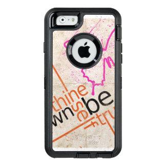 À Thine possédez l'individu soit véritable cas Coque OtterBox iPhone 6/6s