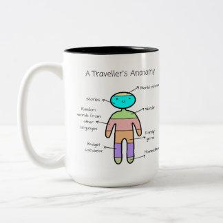 «À Traveller's Anatomy» - Mug (2)
