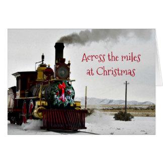 À travers les milles à la carte de voeux de Noël