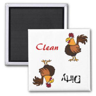 AA aimant génial de lave-vaisselle de coq