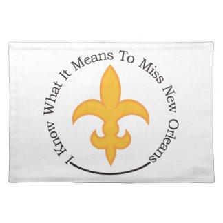 Aan Misser New Orleans Onderlegger