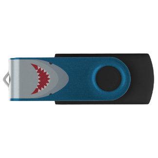 Aandrijving van USB van de Aanval van de haai de Swivel USB 2.0 Stick