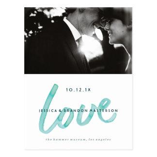 Aankondigingen van het Huwelijk van de Waterverf Briefkaart