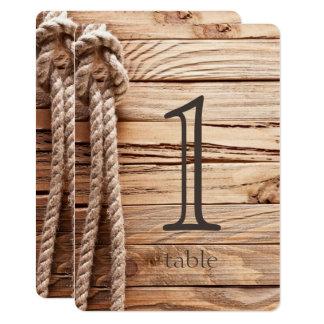 Aantal van de Lijst van het Jubileum van de Knopen 12,7x17,8 Uitnodiging Kaart