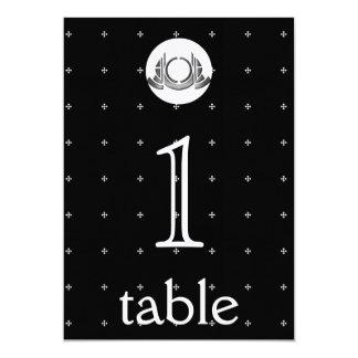 Aantal van de Lijst van het Jubileum van het art 12,7x17,8 Uitnodiging Kaart