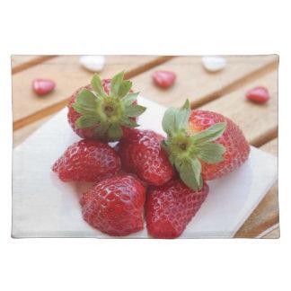 Aardbeien Placemat