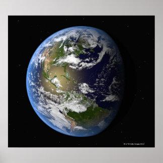 Aarde 8 poster