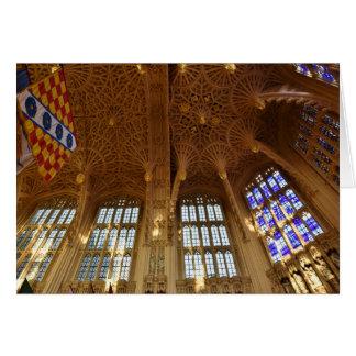 Abbaye de Westminster, chapelle de Royal Air Force Carte