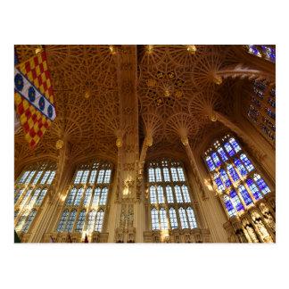 Abbaye de Westminster, chapelle de Royal Air Force Carte Postale