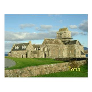 Abbaye Ecosse d'Iona Carte Postale