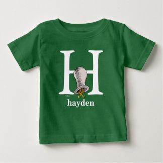 ABC de Dr. Seuss's : Lettre H - Le blanc | T-shirt Pour Bébé