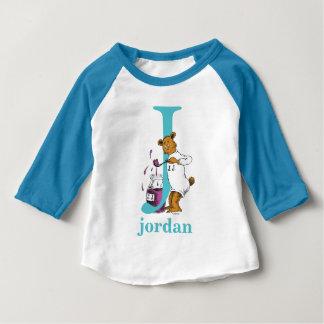 ABC de Dr. Seuss's : Lettre J - Teal | ajoutent T-shirt Pour Bébé