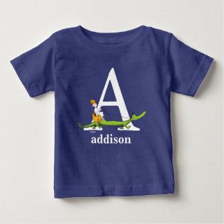 ABC de Dr. Seuss's : Marquez avec des lettres A - T-shirt Pour Bébé