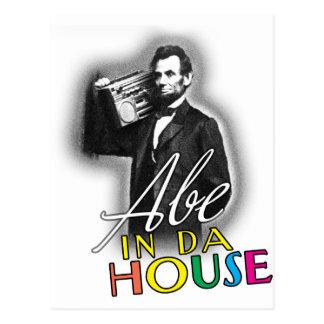 Abe dans la Chambre du DA Carte Postale