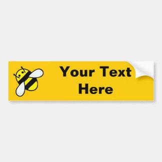 abeille de miel autocollant de voiture
