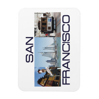 ABH San Francisco Magnets Rectangulaire