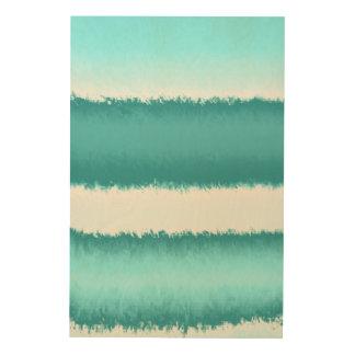 abrégé sur bleu impression sur bois