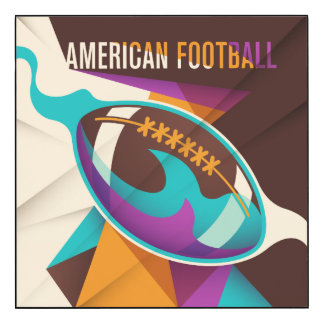 Abrégé sur boule de sport de football américain