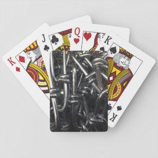 Abrégé sur chaînes de fer de maillon de chaîne en cartes à jouer