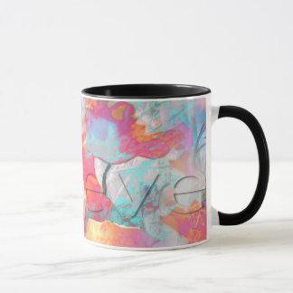 Abrégé sur coloré pavots - croyez la tasse