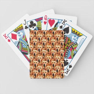 Abrégé sur frais golden retriever de chienchien cartes à jouer