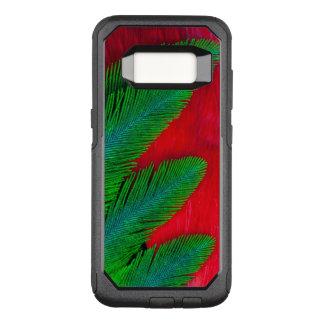 Abrégé sur rouge et vert plume coque samsung galaxy s8 par OtterBox commuter