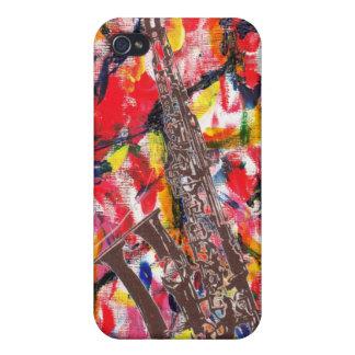 Abrégé sur saxophone de jazz coques iPhone 4