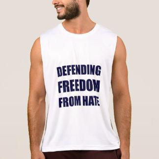 Absence de défense de débardeur de haine