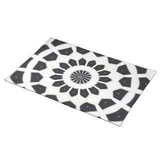 ABSTRACT ART. PLACEMATS