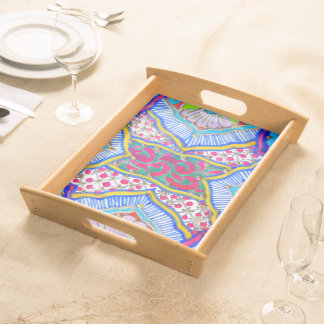 Abstract Pattern - Serving Tray - Plateau