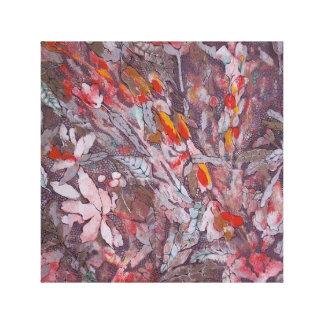 abstracte canvasdruk '' Grijze '' Canvas Afdruk