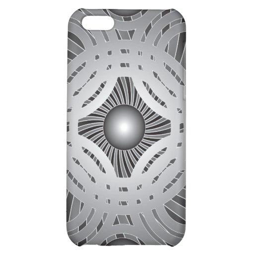 Abstracte Cirkels: Vector Kunst: iPhone 5C Covers