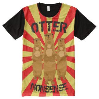 Absurdité de loutre t-shirt tout imprimé